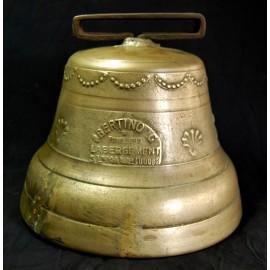Campana de bronce de finales del siglo XIX