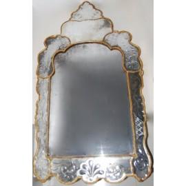 Espejo veneciano de finales del siglo XIX