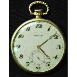 Reloj de bolsillo Longines, oro 18K