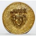 Medalla de bronce, finales del siglo XIX, Medusa.