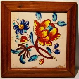 Azulejo valenciano del siglo XVIII