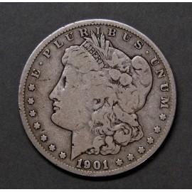1 dollar Morgan de plata de 1901