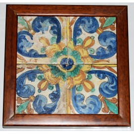 Panel de cerámica valenciana.