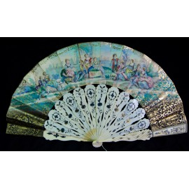 fan of the late nineteenth century