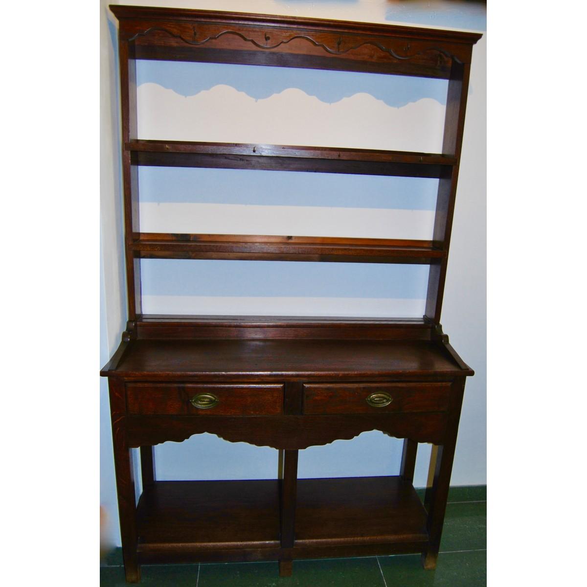 English plate rack furniture, 20th