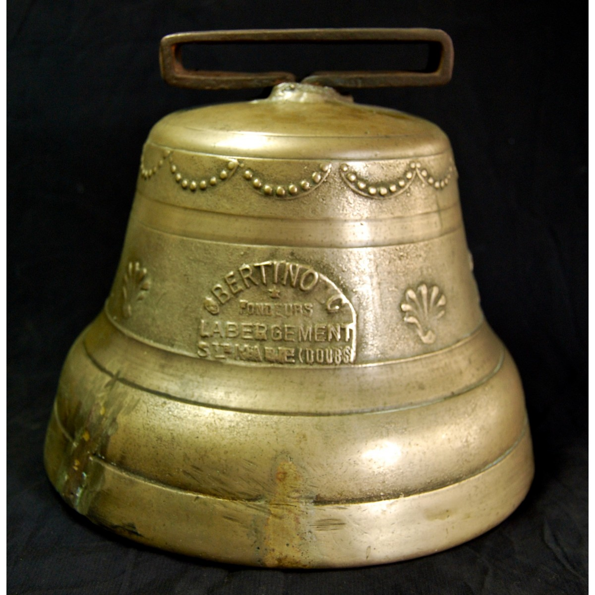 Bronze bell of the late 19th