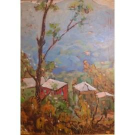Alberto Helios Gagliardo, olio su tavola