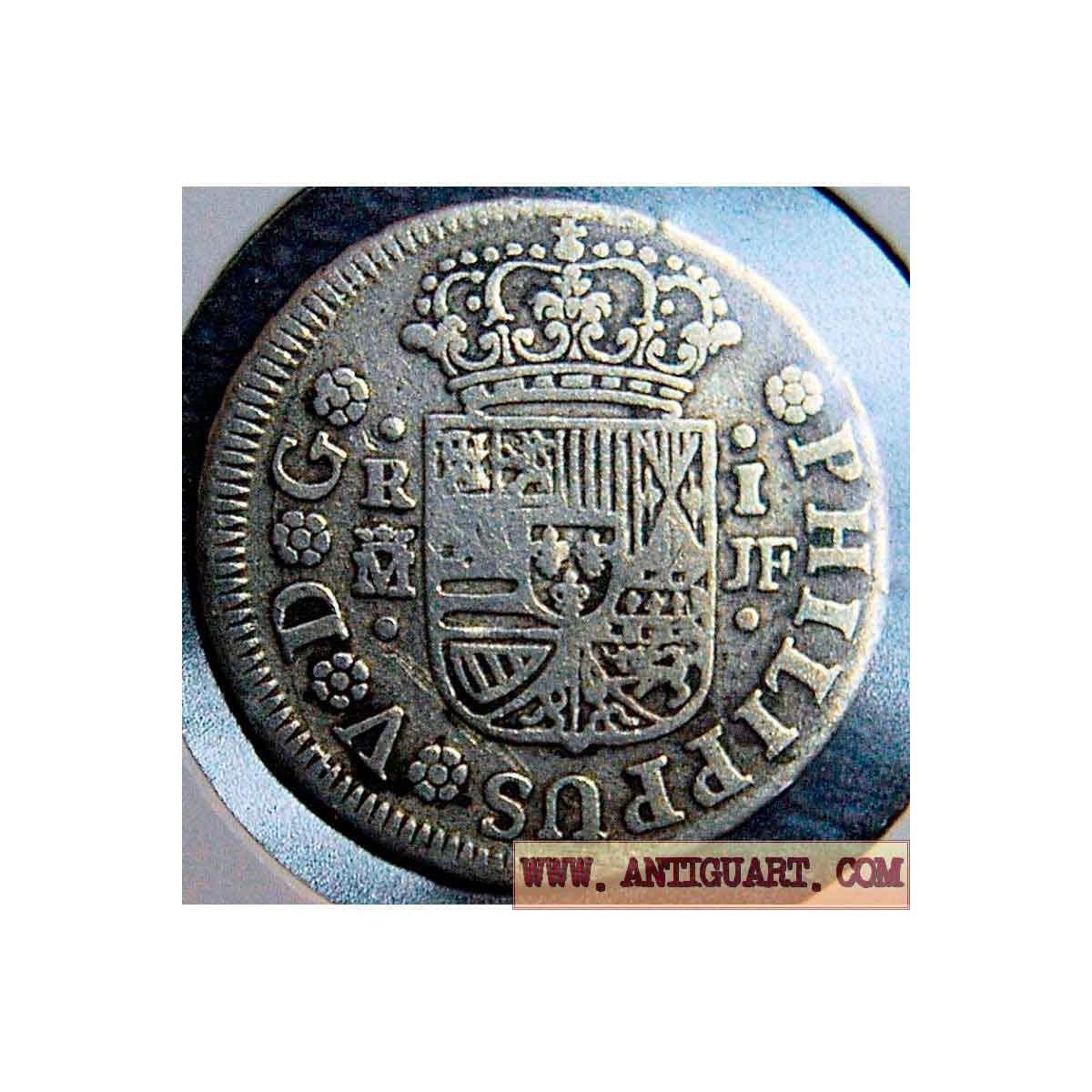 1 real Felipe V - 1738.