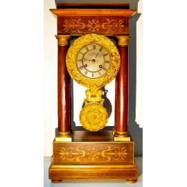 Table clock Charles X, first half of the 19th