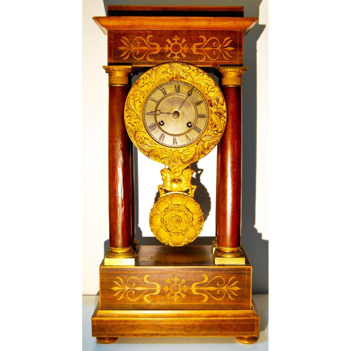 Table clock Charles X,19th
