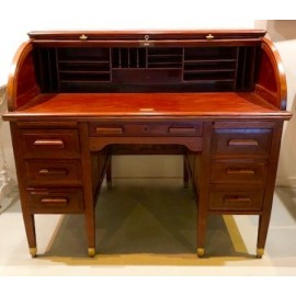 Mahogany bureau, first half of the 20th