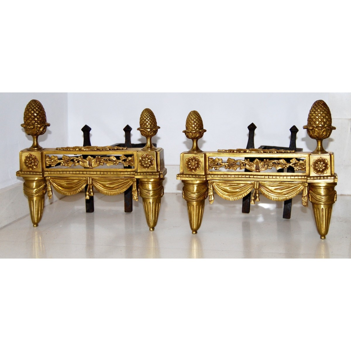 Andirons from 18th century