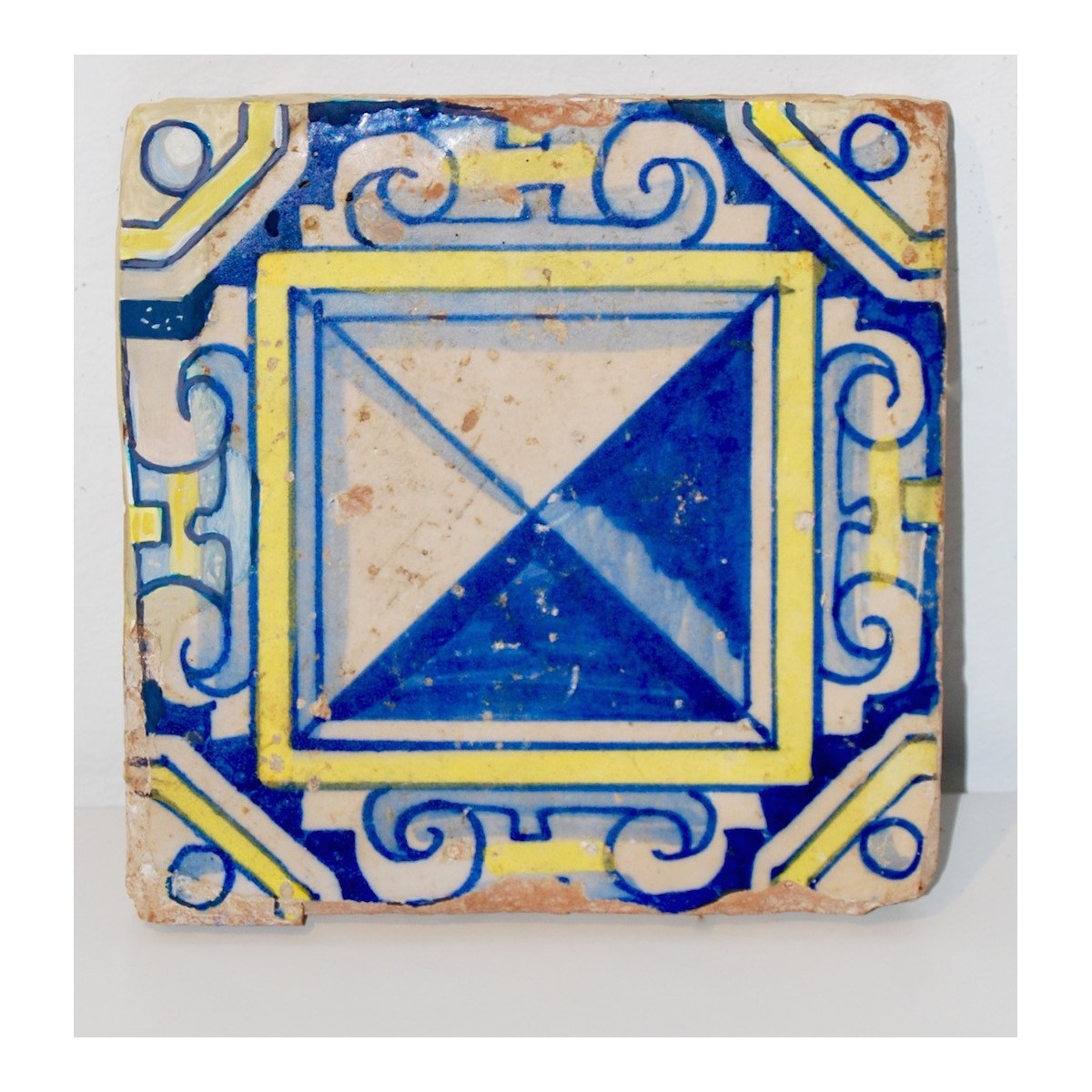 Valencian tile of the 17th