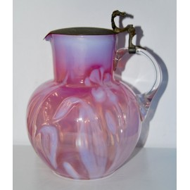 Blown glass jug of the early 20th century
