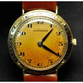 Orologio Longines da donna d' oro 18 carati