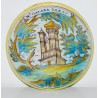 Talavera (Spain) plate 18th
