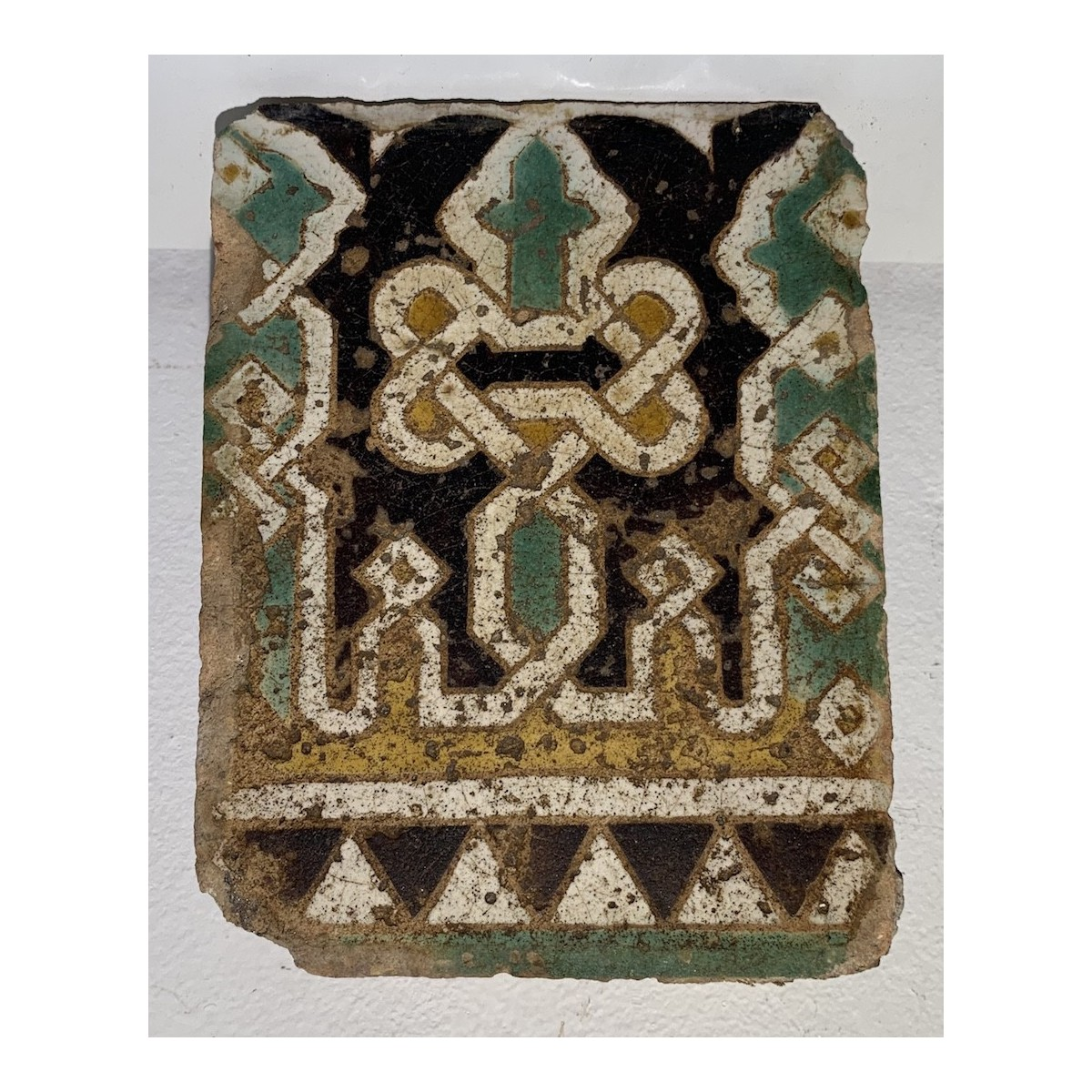 Tile, Hispanic-Muslim work, S. XIV- XV