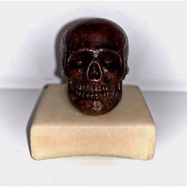 Memento Mori skull, 18th