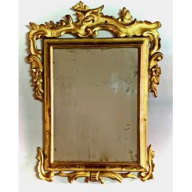 Mirror gilded  of the 18th