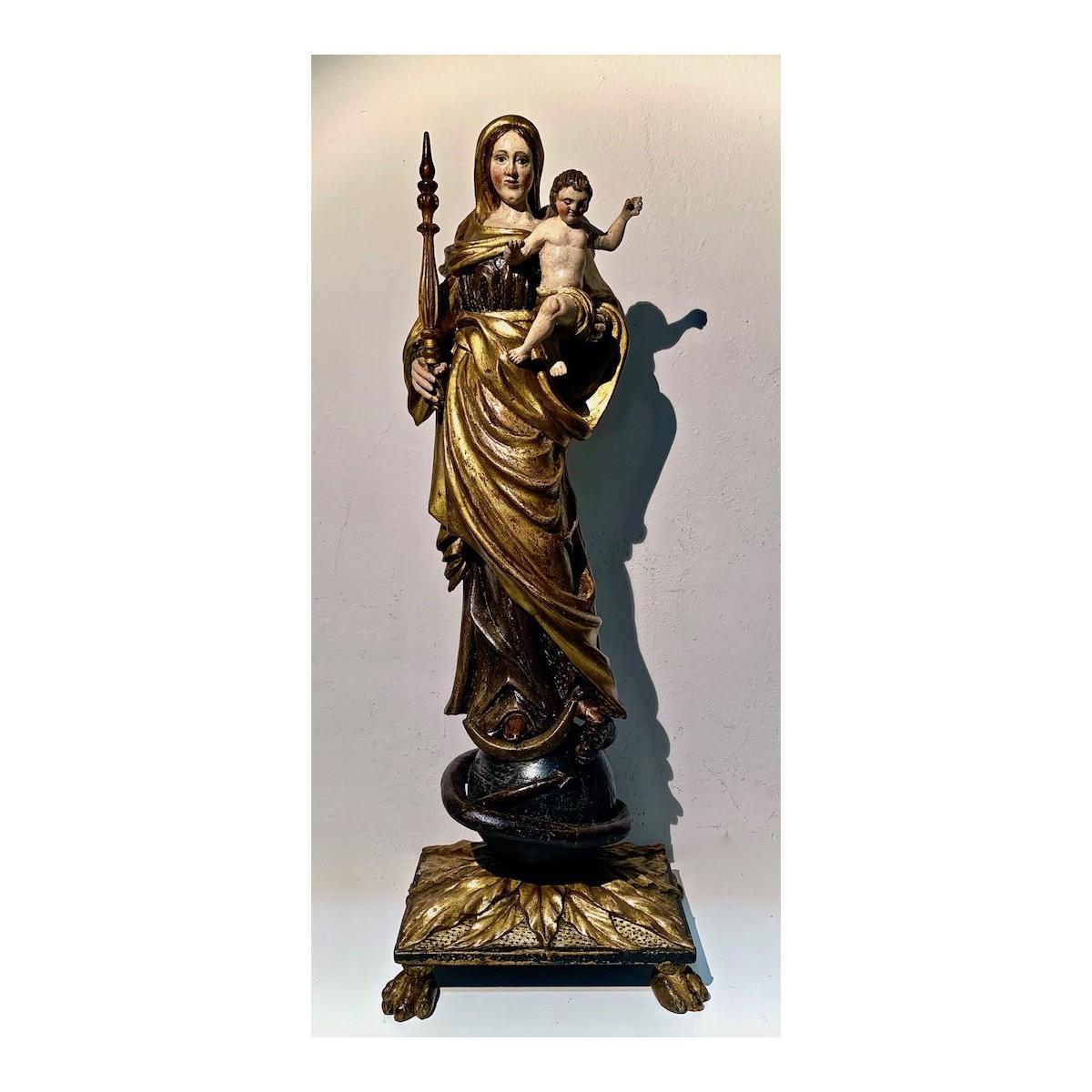 Inmaculada con el Niño del siglo XVIII