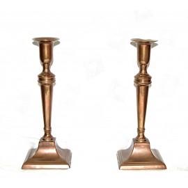 Coppia di candelabri del XIX secolo.