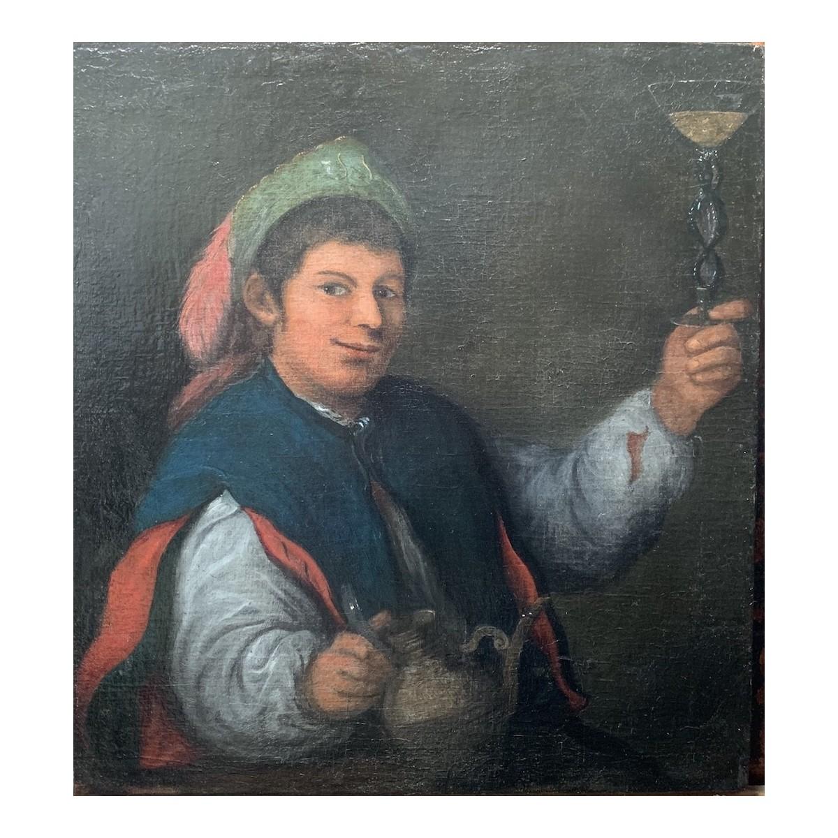 ritratto di giovane del 600