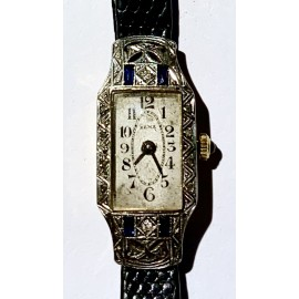 Titus women's watch, Geneve Switzerland, 18K gold