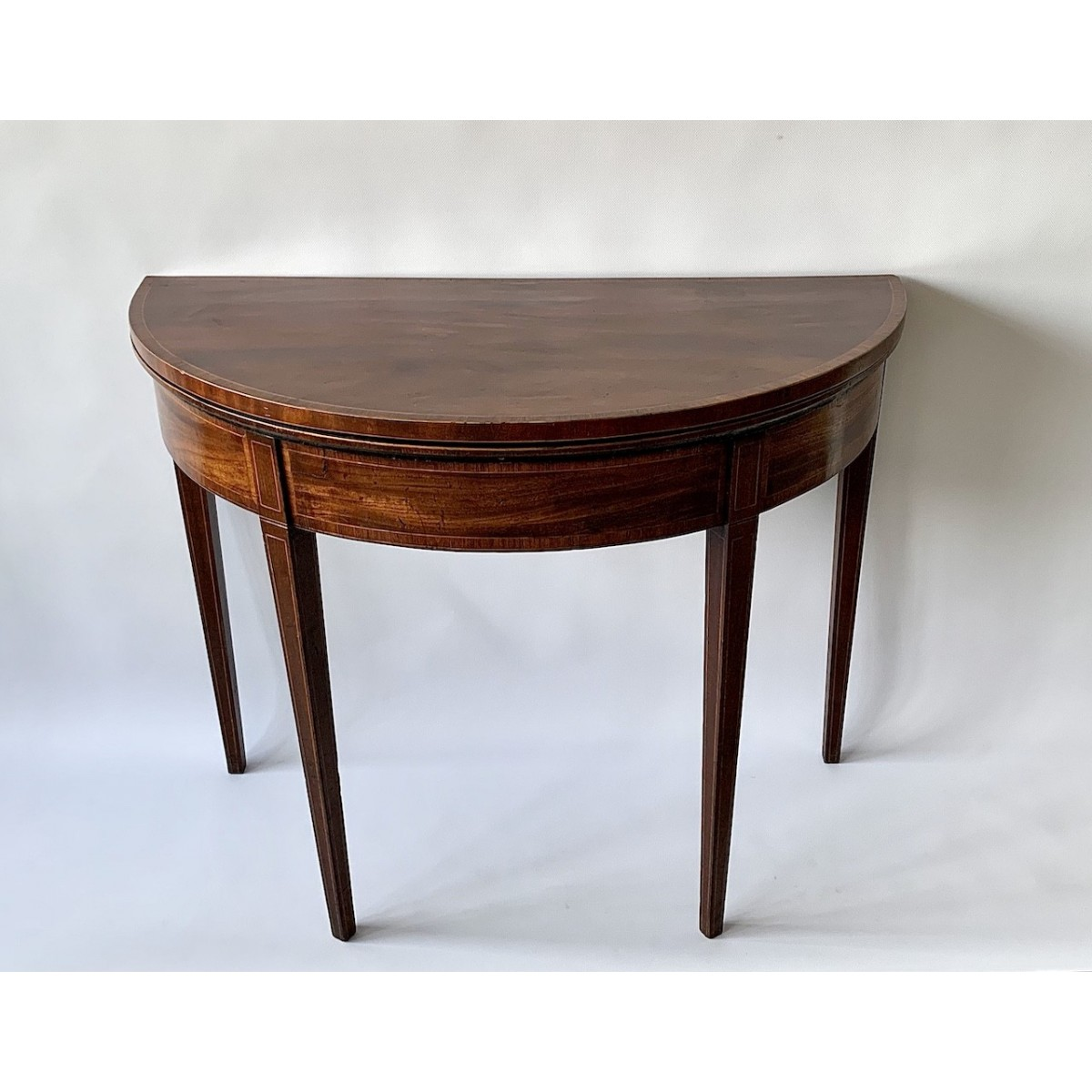 Antique mahogany game table 19th