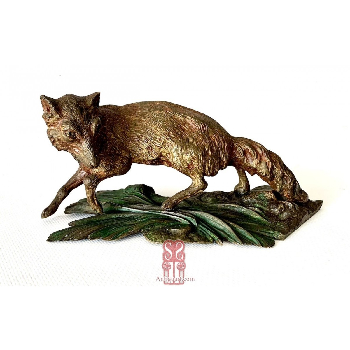 Fox, Vienna bronze 19th