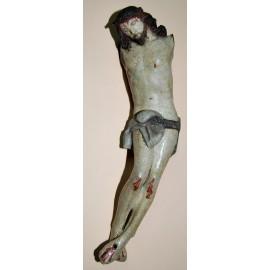 Cristo intagliato, fine del XVII secolo.