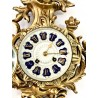 Bronze cartel clock France 19th