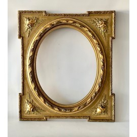 Fine gold wooden frame, 19th