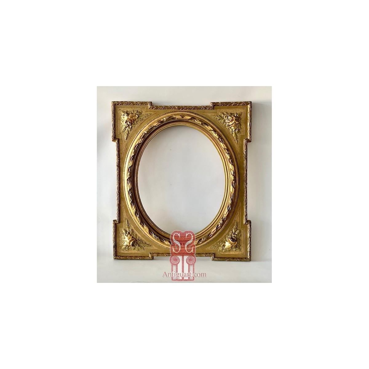 Fine gold wooden frame, 19th