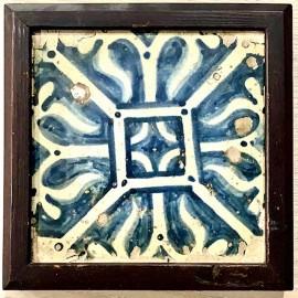 15th century tile (Valencia, Spain)