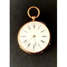 Orologio da tasca d'oro di dell'800