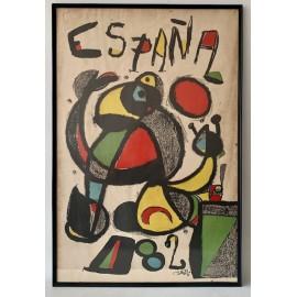 Original poster from Spain 82, Joan Miró
