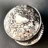 Round silver box, English, Chester 19th