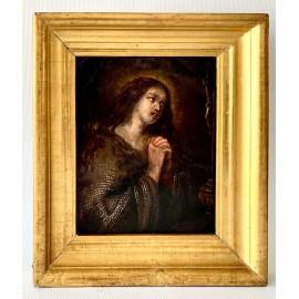 Maria Maddalena penitente, olio su rame del XVII secolo