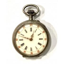 Orologio da tasca d'argento dell'800