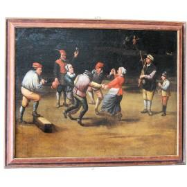 Pintura flamenca de principios del siglo XVIII.
