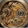 Reloj de bolsillo de plata, mitad del siglo XIX .