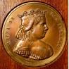 Medaglia commemorativa di Isabel II, 1865.