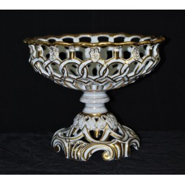 Centro de mesa de porcelana