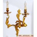 OLD WALL LAMP. APPLIQUES